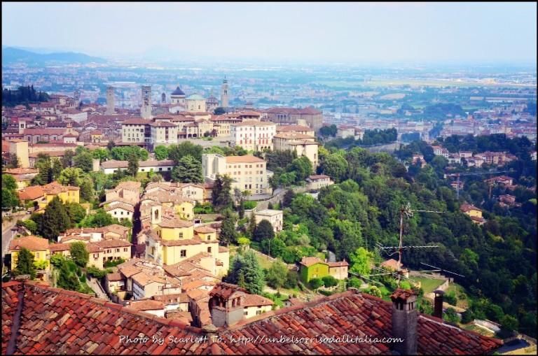意大利北部的貝加莫。(Scarlett To 部落格)