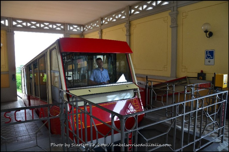 可前往San Vigilio的另一個小纜車站(Funicolare San Vigilio)。(Scarlett To 部落格)
