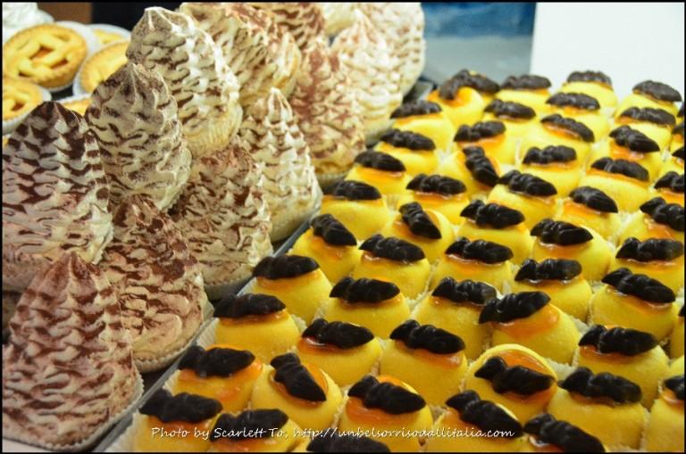 Bergamo的传统甜点,Polenta e Osei。(Scarlett To 部落格)