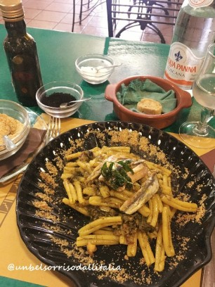 沙丁魚意大利面Pasta con le sarde
