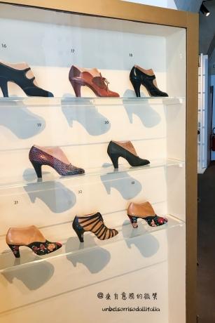 這些都是當年Ferragamo製鞋的木模型