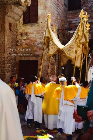 手持聖體的神職人員
