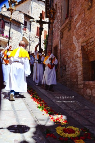 基督聖體聖血節Corpus Domini的宗教巡遊隊伍