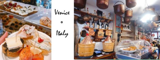 Venice Cicheti Blog